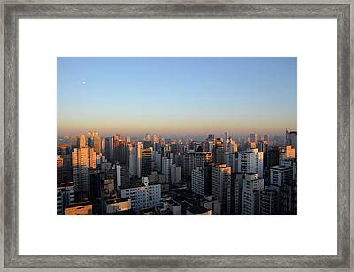 This Morning's First Lights Framed Print