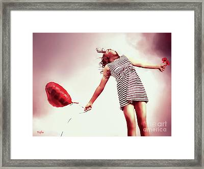 This Must Be Love Framed Print