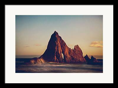 Half Moon Bay Framed Prints