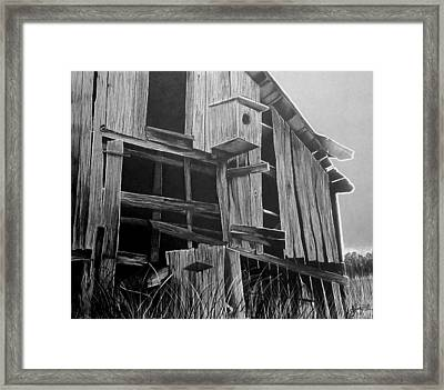This Old Barn Framed Print by Jason Dunning