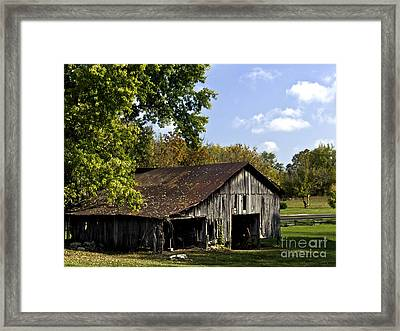 This Old Barn Framed Print