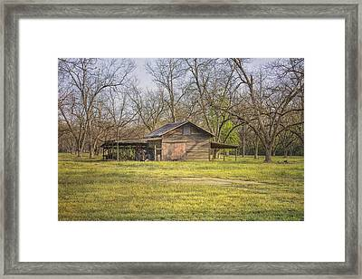 This Old Barn Framed Print by Kim Hojnacki