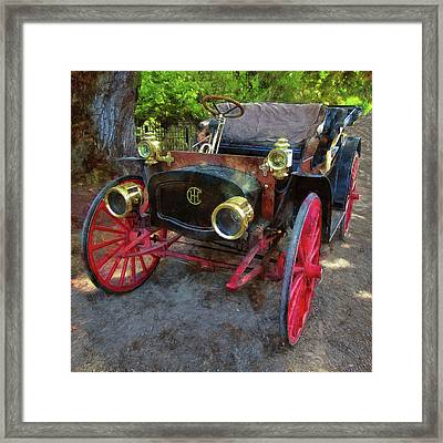 Framed Print featuring the photograph This Old Car by Thom Zehrfeld
