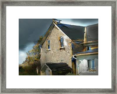 This Old House Framed Print by Bob Salo