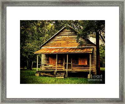 This Old House Framed Print by Dave Bosse