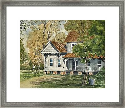 This Old House Framed Print by Don Bosley