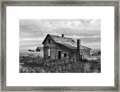 This Old House Framed Print by Jim Walls PhotoArtist