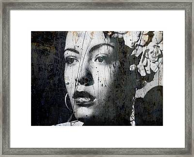 This Ole Devil Called Love  Framed Print by Paul Lovering