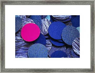 This One Dude Framed Print by Michael Cantor