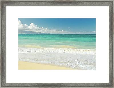 Framed Print featuring the photograph This Paradise Life by Sharon Mau
