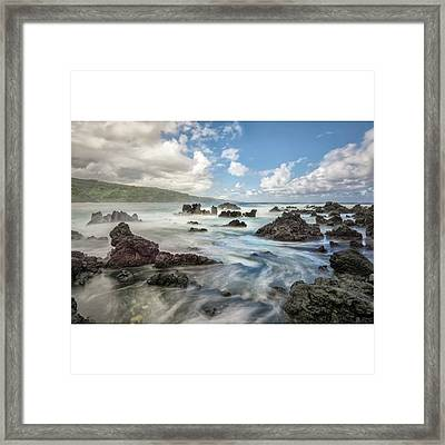 This Photograph Was Captured On The Framed Print