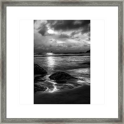 This Photograph Was Taken At Lower Framed Print