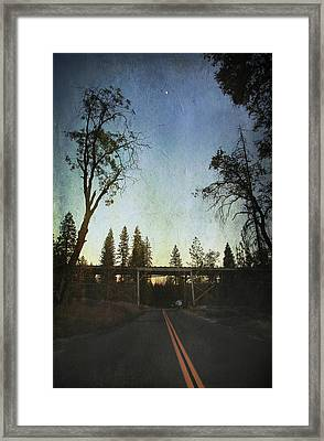 This Road Called Life Framed Print
