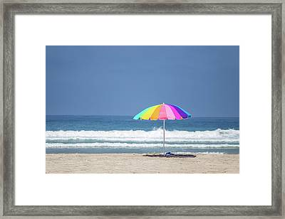 This, This Is Summer Framed Print