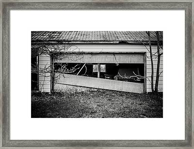 This Was Once The Perfect Hideout Framed Print by Off The Beaten Path Photography - Andrew Alexander