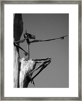 This Way ... Framed Print by Juergen Weiss