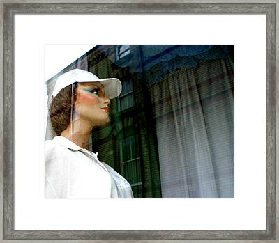 This Way Now Framed Print by Jez C Self