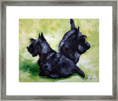 This Way Or That  Framed Print by Mary Sparrow