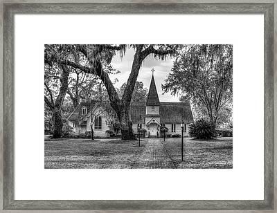 This Way To Heaven Christ Episcopal Church Art Framed Print by Reid Callaway