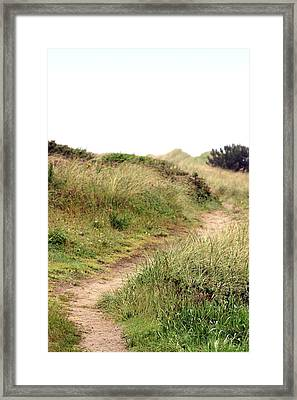 This Way To The Beach Framed Print by Joseph Skompski
