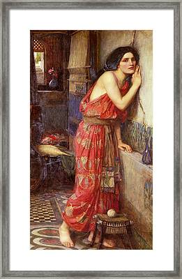 Thisbe Framed Print by John William Waterhouse