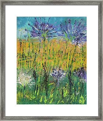 Thistles Too Framed Print