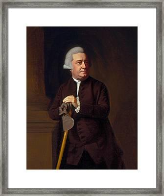 Thomas Amory II Framed Print
