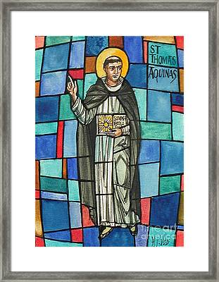 Thomas Aquinas Italian Philosopher Framed Print