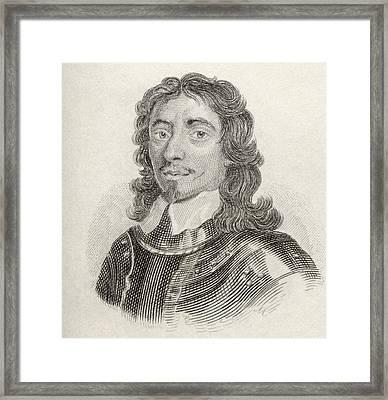 Thomas Fairfax, 3rd Lord Fairfax Of Framed Print by Vintage Design Pics