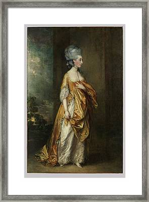 Thomas Gainsborough Framed Print by MotionAge Designs