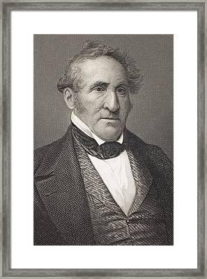 Thomas Hart Benton 1782 - 1858 Framed Print by Vintage Design Pics