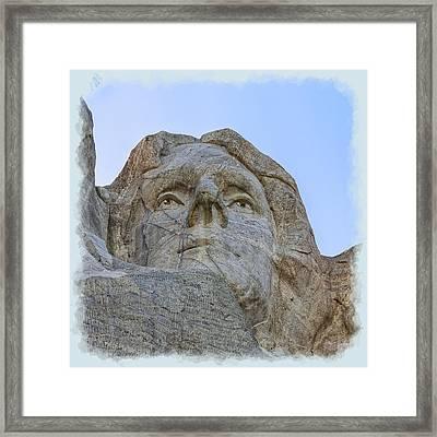 Thomas Jefferson 2 Framed Print