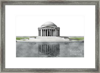 Thomas Jefferson Memorial, Washington Framed Print