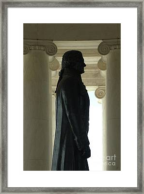 Thomas Jefferson Statue Framed Print