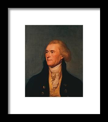 Monticello Framed Prints