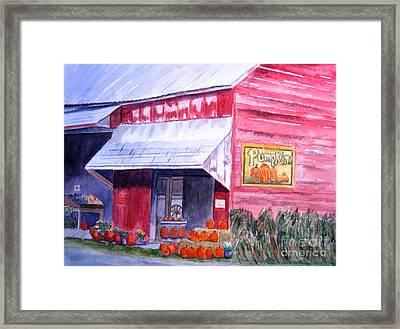 Thomas Market Framed Print