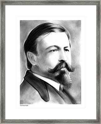 Thomas Nast Framed Print by Greg Joens