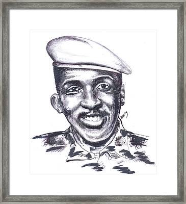 Thomas Sankara 02 Framed Print