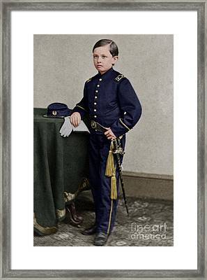 Thomas Tad Lincoln IIi Son Of President Abraham Lincoln 20170520 Framed Print