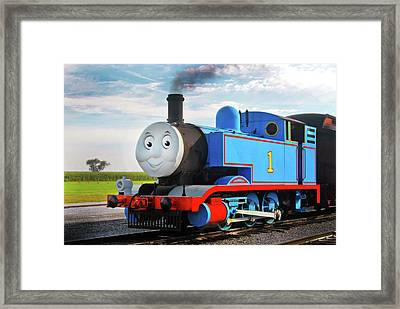 Thomas The Train Framed Print