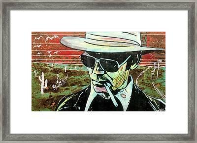 Thompson Framed Print by Bobby Zeik