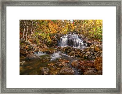 Framed Print featuring the photograph Thompson Falls by Thomas Gaitley