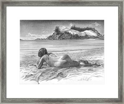 Thompson Point Framed Print by Olivier Duhamel
