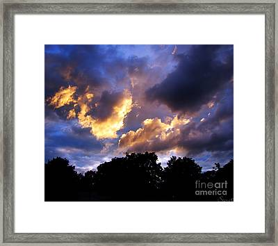Thomson Sky Framed Print