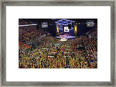 Thon 2012 Framed Print by Michael Misciagno