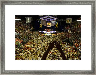 Thon Diamonds Up Framed Print