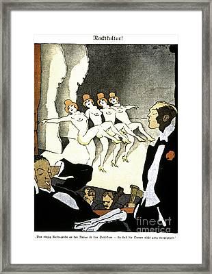 Thony: Nacktkultur, 1926 Framed Print by Granger