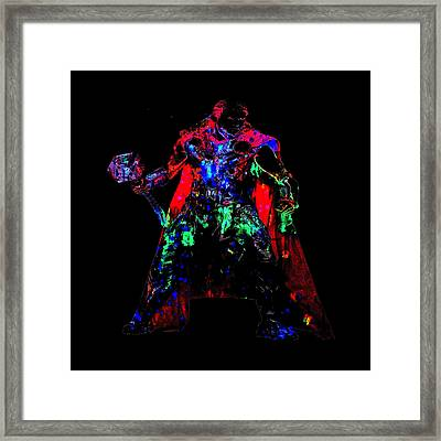 Thor Framed Print by Brian Reaves