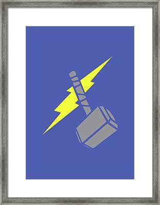 Thor Framed Print