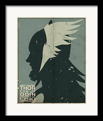 Thor Framed Prints